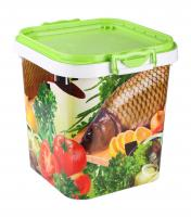 A container for fish 25L.