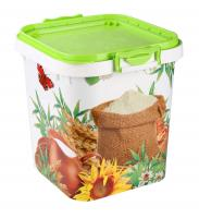 Container for flour and sugar 25L.